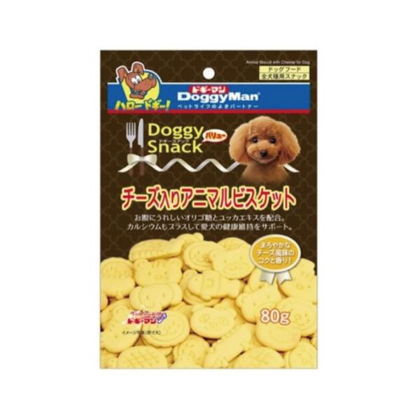 4976555819892DM犬用起司動物造型消臭餅乾80g