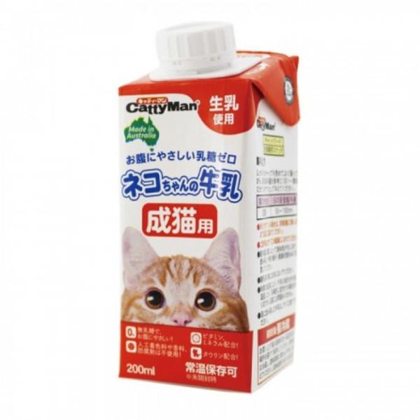 【CattyMan】貓專用牛奶(成貓) 200ml