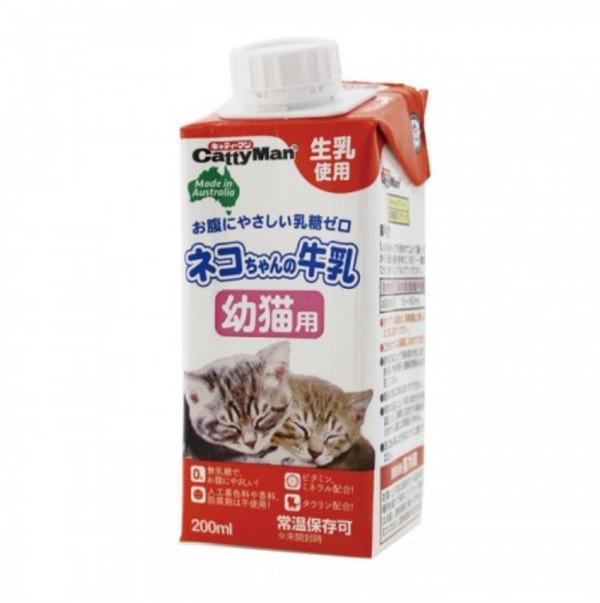 【CattyMan】貓專用牛奶(幼貓) 200ml