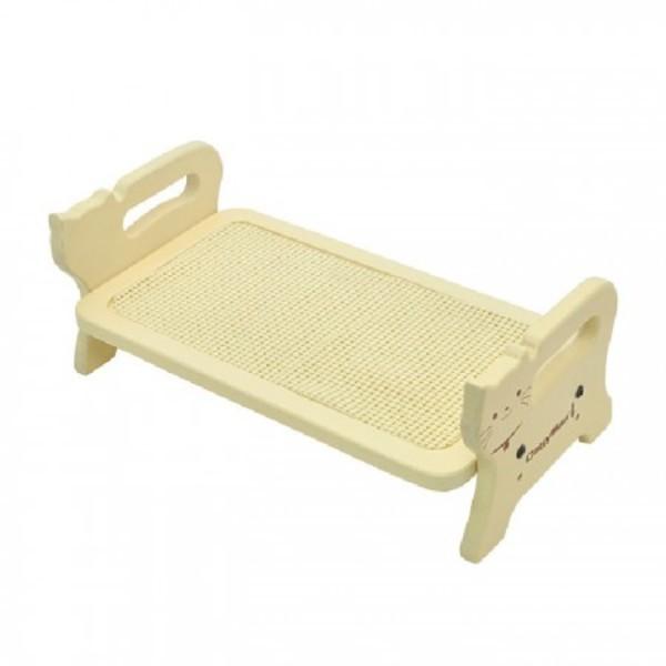 4976555933369Doggyman貓用高質感木製立式可調餐飲桌-M