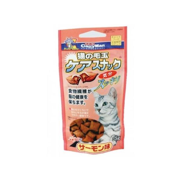 【CattyMan】貓用鮭魚潔牙化毛餅乾35g
