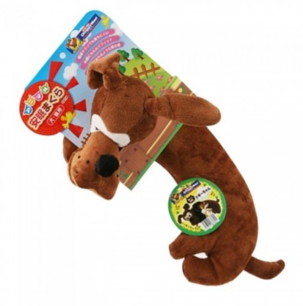 4976555878691DM犬用可愛動物抱枕-Doggy將