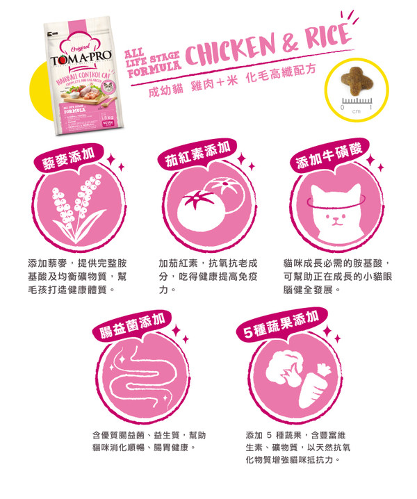 優格(貓)成幼化毛貓 雞肉配方 1.5kg 798304401738