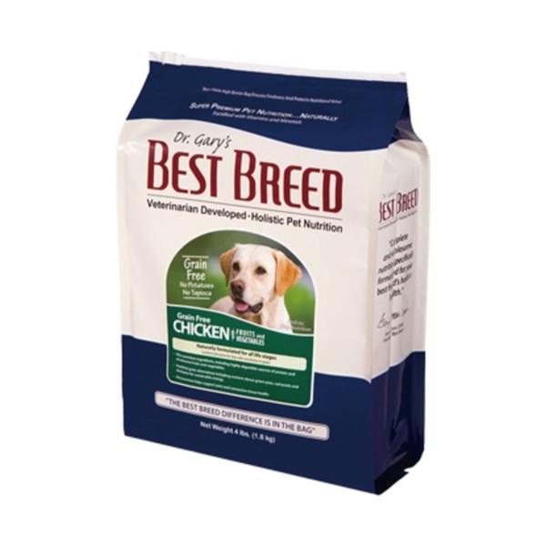 【貝斯比 BEST BREED】全犬無穀雞肉+蔬果1.8kg