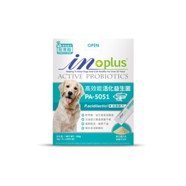 【IN-Plus】PA-5051高效能活化益生菌24入(5g/包)