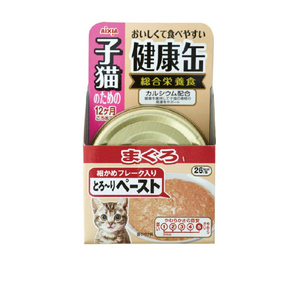 4571104711629健康缶-幼貓4號-鮪魚40g-罐(48/箱)