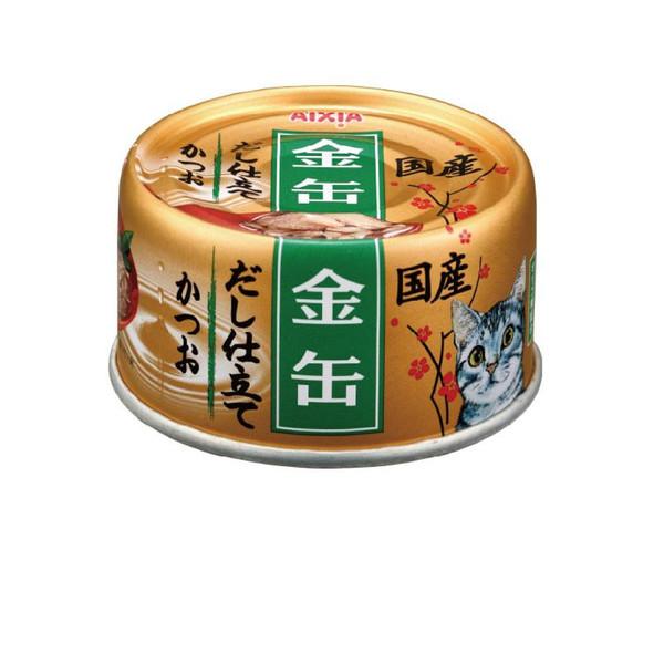 【Aixia】愛喜雅 金罐8號高湯-鰹魚70g-罐