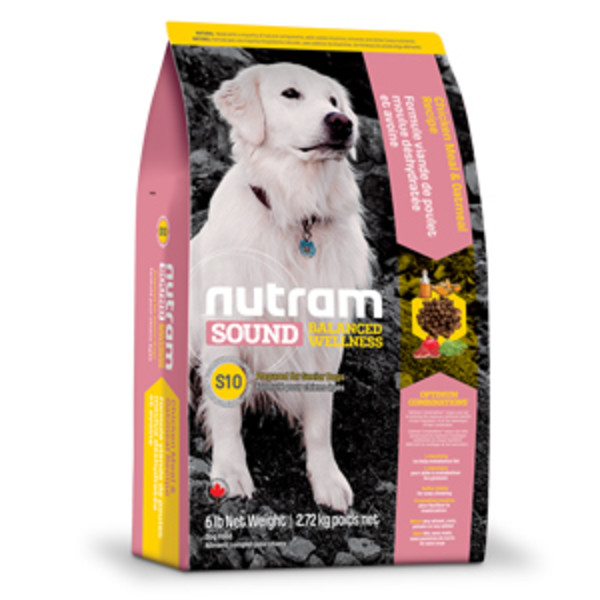 【紐頓nutram】S10老犬雞肉燕麥 13.6KG