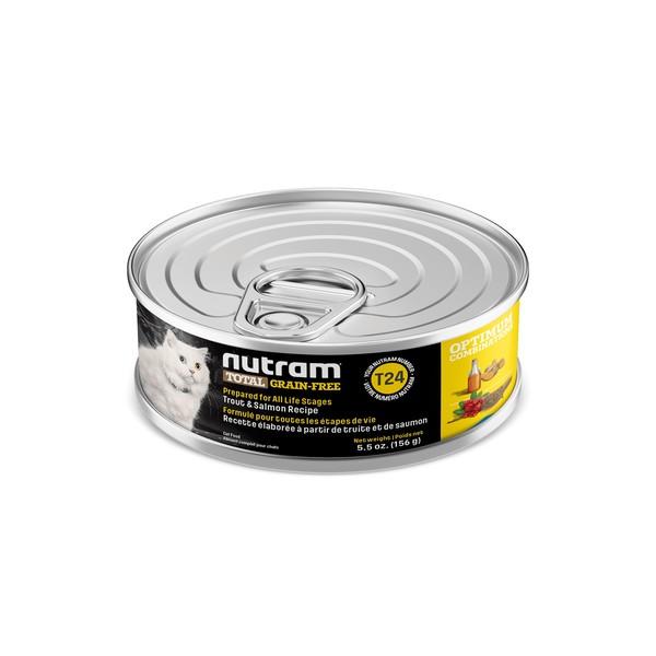 【紐頓nutram】無穀貓主食湯罐156G-(T22/T24)