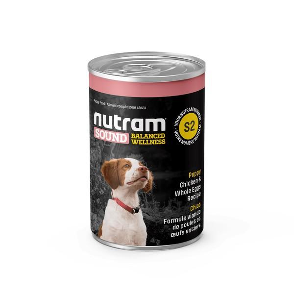 067714102109紐頓S2幼犬雞肉糙米主食湯罐369G