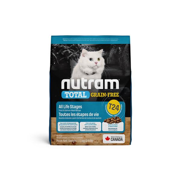 【紐頓nutram】T24無穀貓鮭魚配方1.13KG