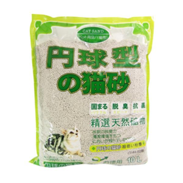 【日本丹球型】球型貓砂(粗)10L-(原香/花果香)