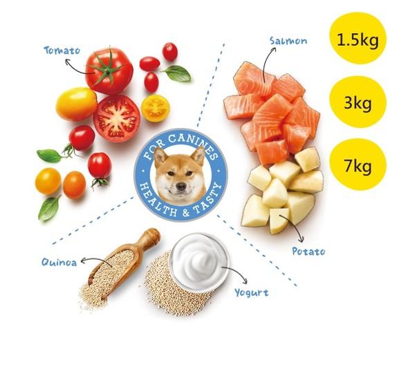 優格(犬)成幼犬鮭魚配方 3kg 798304423662