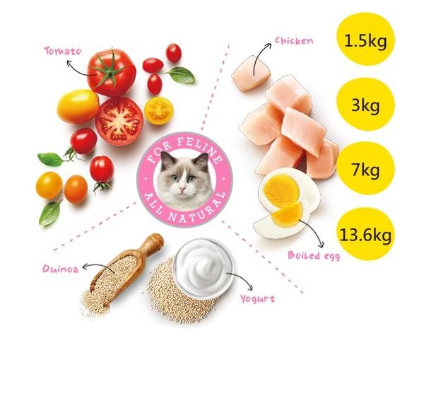 優格(貓)成幼化毛貓 雞肉配方 798304401738 品
