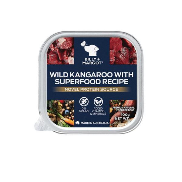 810339022587比利瑪格主食餐盒-袋鼠肉配方100g