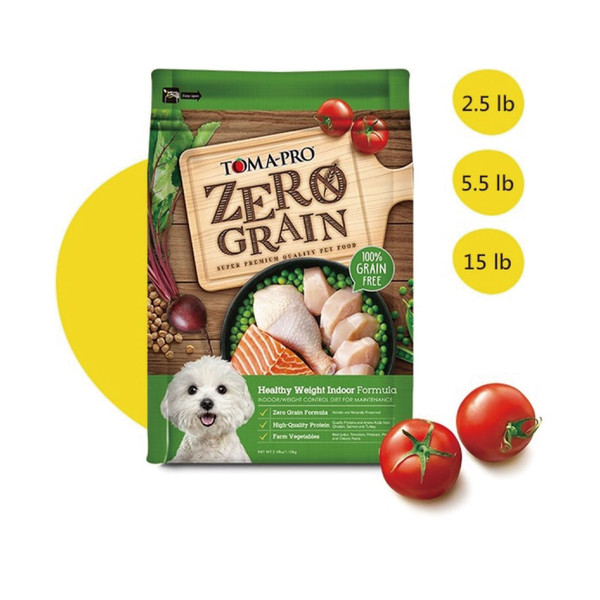 【TOMA-PRO 優格】天然零穀成犬體重管理雞肉 5.5lb