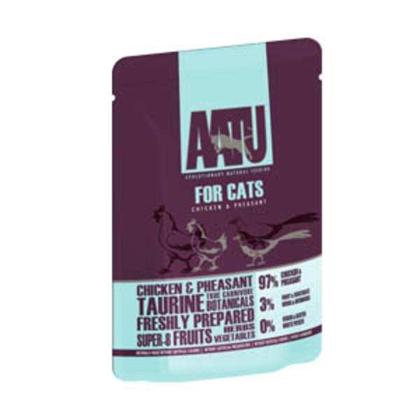超級8 皇室貓主食-無穀97%鮮肉餐包  雞肉+雉 雞 85g 5060189112845