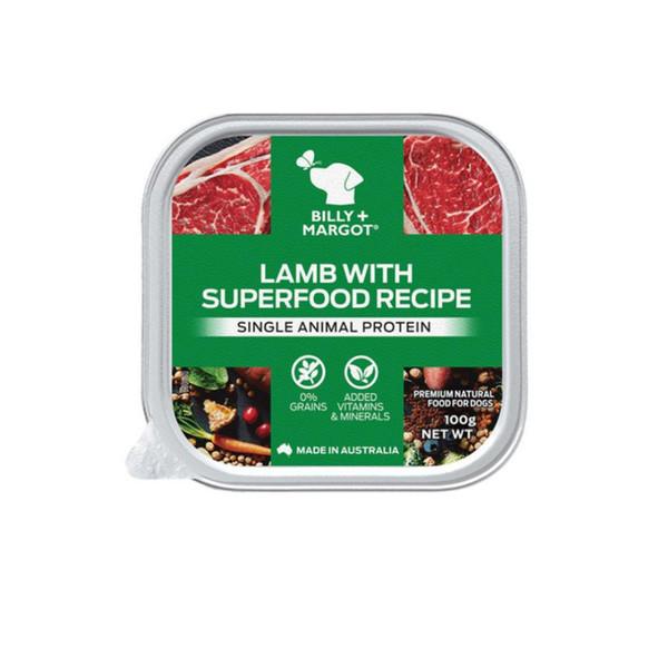 810339022594比利瑪格主食餐盒-羊肉配方100g