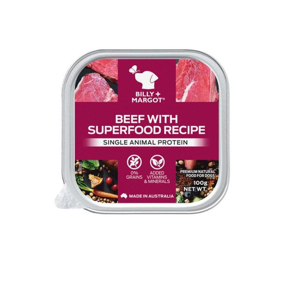 810339022600比利瑪格主食餐盒-牛肉配方100g