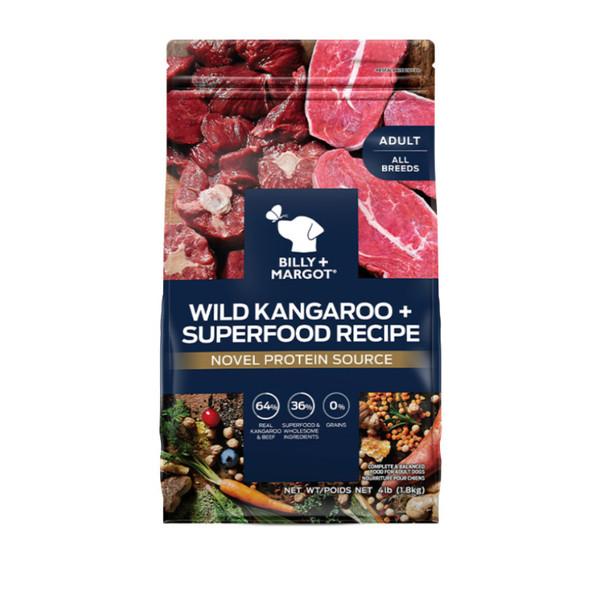 810339022495比利瑪格成犬-野生袋鼠肉加牛肉配方1.8kg