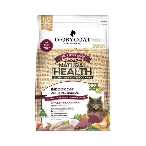 【澳克騎士 IVORY COAT】全貓無穀鮮雞&袋鼠肉3kg