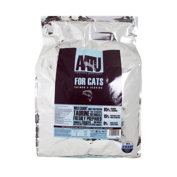 AATU(貓)皇室85%鮭魚+鯡魚低敏無穀挑嘴全齡貓糧200g 5060189112258