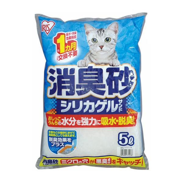【日本IRIS】除臭水晶貓砂