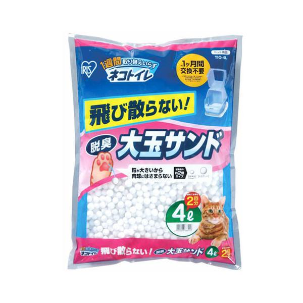 【日本IRIS】大玉脱臭貓砂(4L)