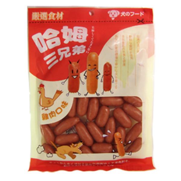 【哈姆三兄弟】犬用點心240g-(雞哥/羊弟/牛王)
