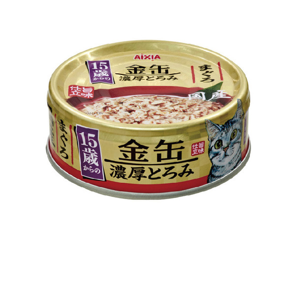 4571104713913金缶濃厚6號15歲-鮪70g-罐(24/箱)