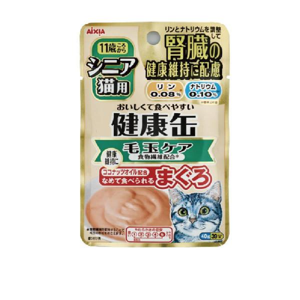 4571104712565健康缶6號軟包-毛球40g-包(12/箱)