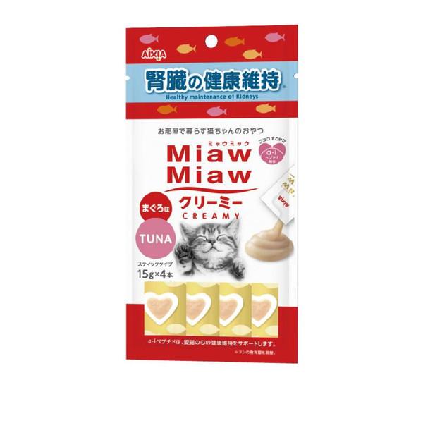【Aixia】愛喜雅妙喵鮪魚肉泥15gx4-(腎臟/化毛/腸道)