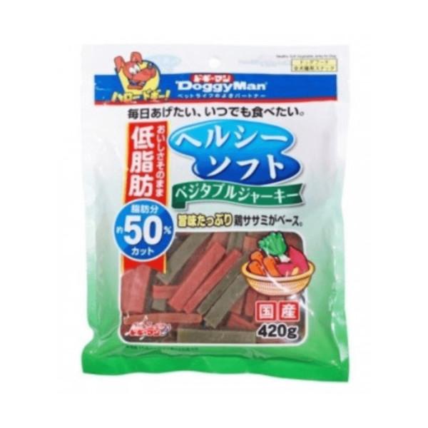 4976555820966DM犬用健康低脂野菜軟雞肉條420g