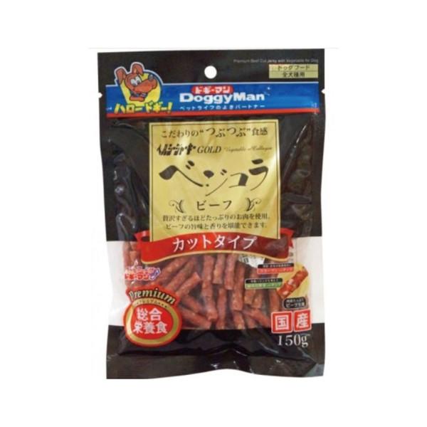 【優惠1+1】DoggyMan點心組合優惠包(短切野菜牛肉條150g+角切起司塊240g)
