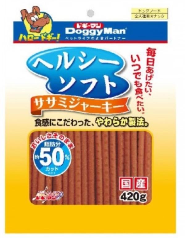 4976555819571DM犬用健康低脂軟雞肉條420g