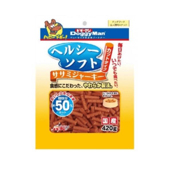 4976555819588DM犬用健康低脂短切軟雞肉條420g