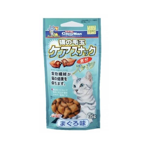 【CattyMan】貓用鮪魚潔牙化毛餅乾35g