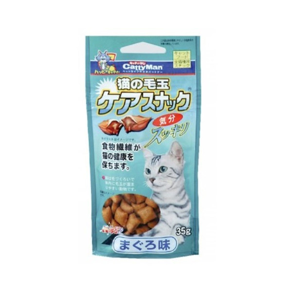 4976555812336CM貓用鮪魚潔牙化毛餅乾35g