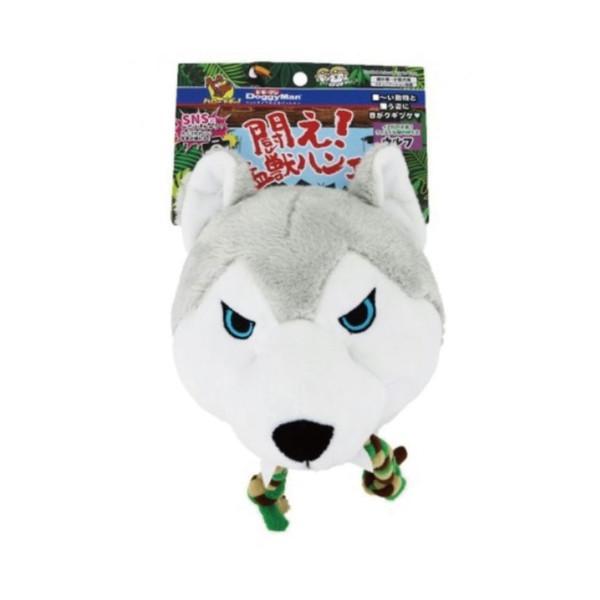 4976555857856DM犬用戰鬥猛獸玩具-灰狼