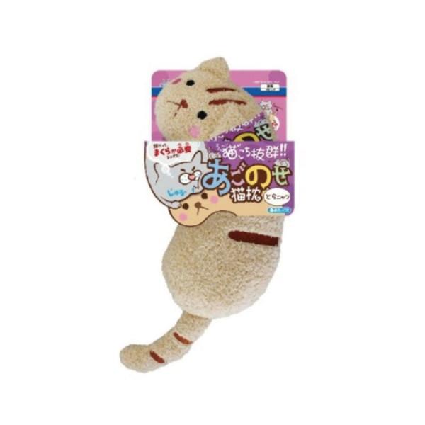 1061068500Doggyman貓用溫馨舒適造型枕-奶茶喵