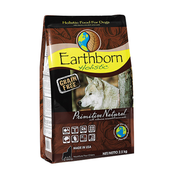 【Earthbor 原野優越】農場低敏無穀犬2.5kg