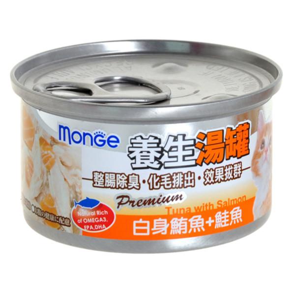 【MONGE】養生湯罐80g(除毛球)-共六種口味
