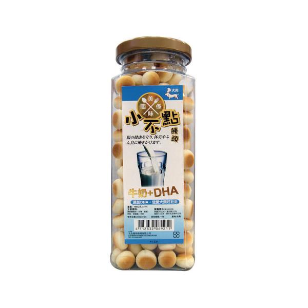4712832069211美味關係小不點饅頭-牛奶DHA160g