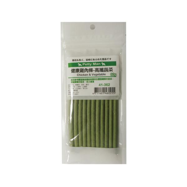 4711481480255PTM健康雞肉條-高纖野菜60g-41-362