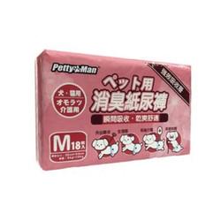 4711481487094PTM強效吸收消臭紙尿褲M(18枚入)