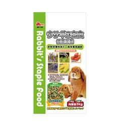 4976358130088PM001愛兔綜合營養主食3Kg(1Kg*3袋)