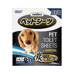 4711404010606幫狗適寵物竹炭尿布-S-45X33cm(100入)