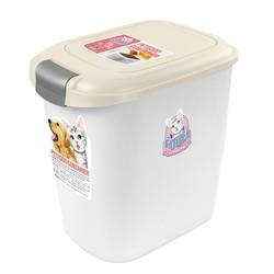 CATIDEA貓樂適CF101-15公斤單開飼料桶(乳白) 6921103001470
