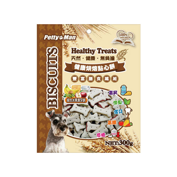 4711481480538PTM烘焙點心-綜合水果潔牙餅300g-41-PM-0002