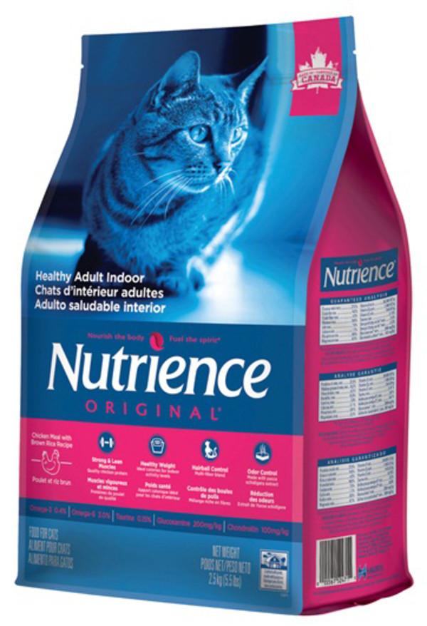 紐崔斯(貓)田園糧-室內化毛貓2.5kg 015561524711